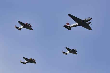 Beechcraft et Dakota les légendes