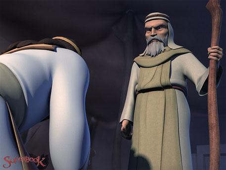 第6話「ダビデとサウル王~やられたらやり返す?!~」の画像