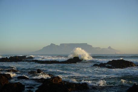 Blouberg Strand, Tafelberg, Kapstadt, Südafrika