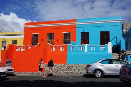 Kapstadt/Malayenviertel/Bunte Häuser/Südäfrika