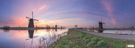 Panoramafoto Kinderdijk