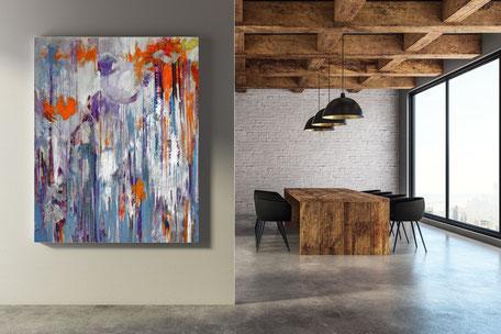 Besprechungsraum, Kunst, Sonja Kalb, Kunst im Unternehmen