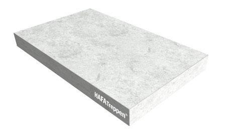 Blockstufe Beton Stone Grau