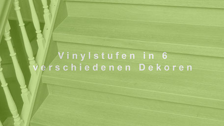 Treppe renovieren mit Vinyl