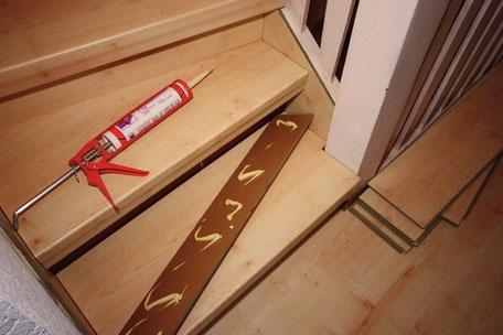 Meine Treppe renovieren in Eigenregie