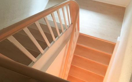 Laminat auf Treppe verlegen