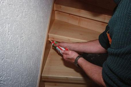 Treppe selbst renovieren