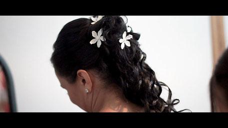 Die Brautfrisur von Keli