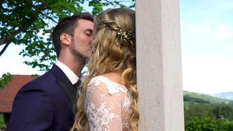 Hochzeitsvideo Szene - Gemeinsam sein