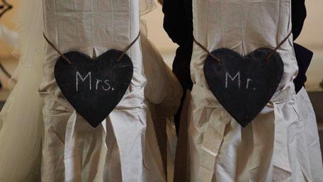 Mrs. und Mr.