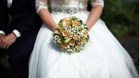 Hochzeitsvideo Szene - Der Brautstrauss