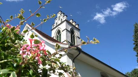 Die Kirche in Affoltern am Albis