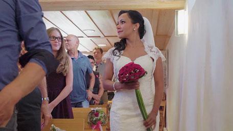 Die Braut kommt