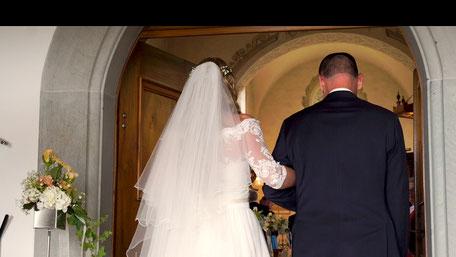 Hochzeitsvideo Szene - Es geht los