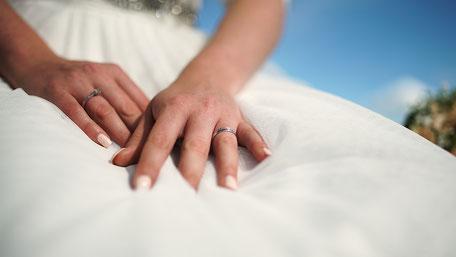Hochzeitsvideo Szene - der Ehering
