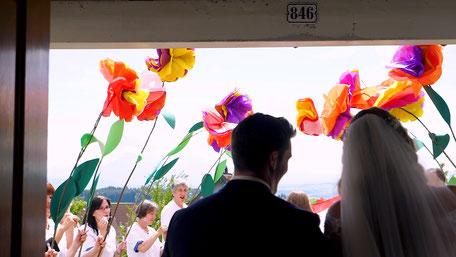 Hochzeitsvideo mit besonderen Höhepunkten