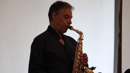 Die Trauungsmusik live vom Saxophon