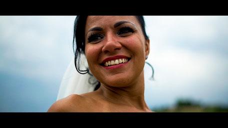 Hochzeitsvideoszene von Keli