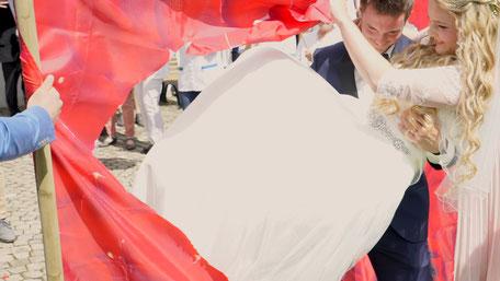 Das Hochzeitsvideo geht durchs Herz