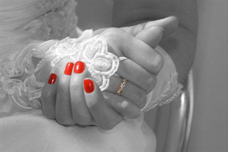 Der Nagellack zur Hochzeit