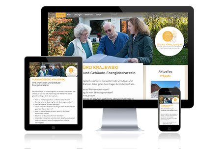 Silke Krajewski Planungsbüro Münster Grafikdesign Katja Beter Webdesign