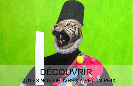 Galerie d 39 art en ligne arty color gallery for Acheter art contemporain