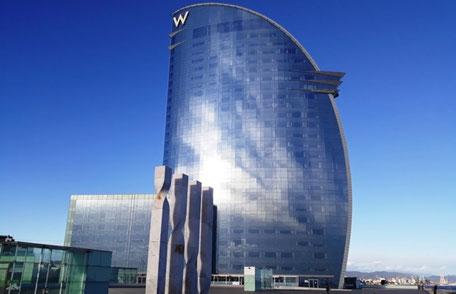 W Barcelona (5* звезд) - лучшие отели Барселоны у моря