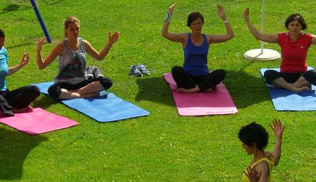 Meditation und Yoga im Hotel Reschnerhof in Südtirol
