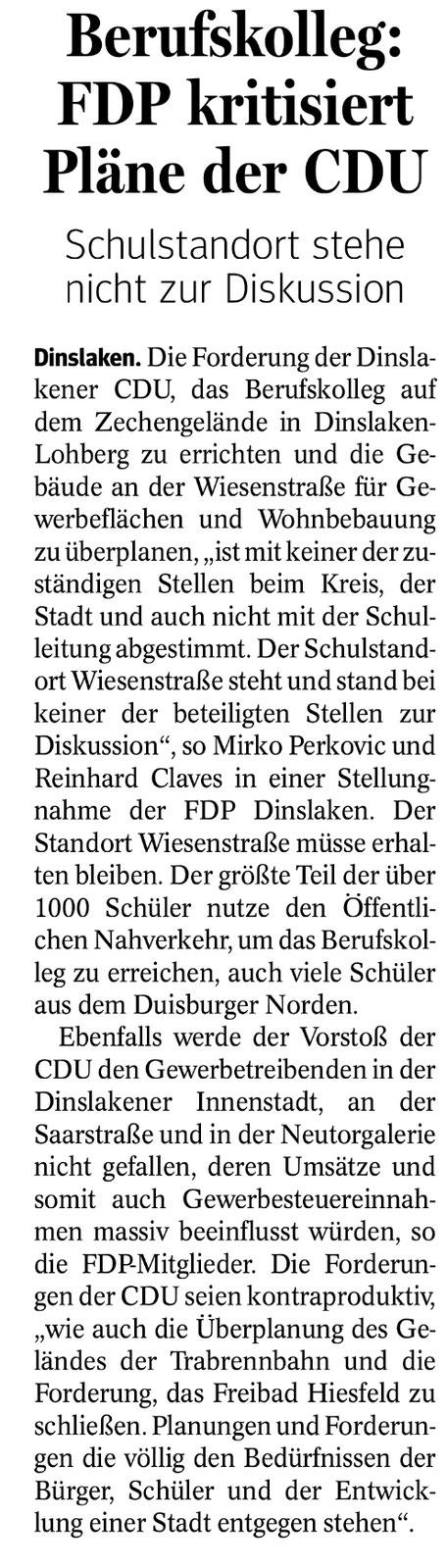 © NRZ Dinslaken vom 22.12.2016