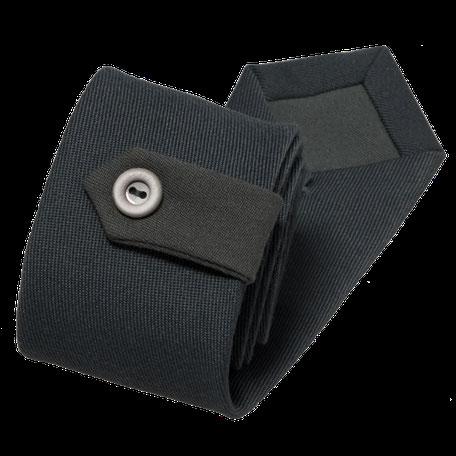 Smalle stropdas Senor Guapo bos groen flap en knoop