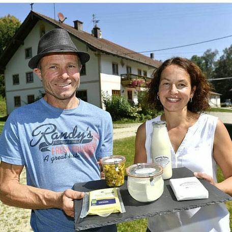 Hugo und Christine Angermeier vom Biohof Angermeier
