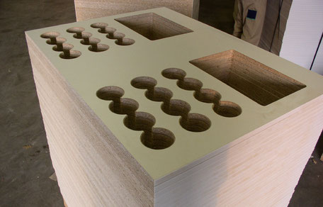 Halbfertigteil CNC Bearbeitung vom Schreiner