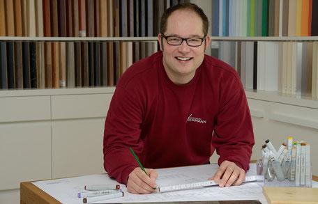Christian Wiedmann Geschäftsführer der Schreinerei Wiedmann