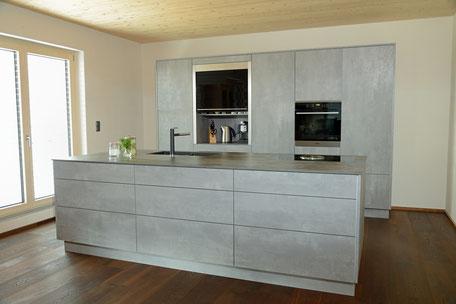 integrierte Minibar in Küche