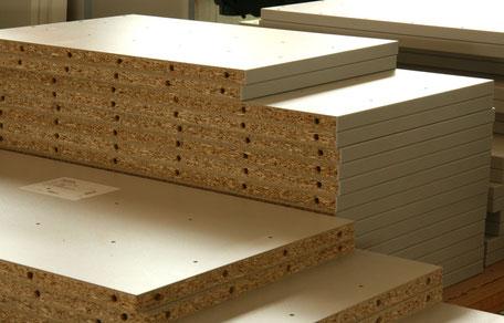 Möbelteile aus Holz von der Schreinerei Wiedmann