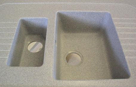 Spüle aus Mineralwerkstoff