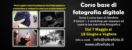 24° CORSO BASE FOTOGRAFIA  2017