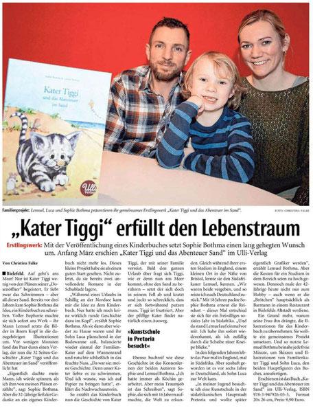 Kater Tiggi und das Abenteuer im Sand, Ulli Verlag