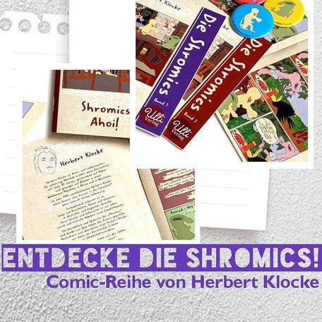 Herbert Klocke München Die Shromics Ulli Verlag