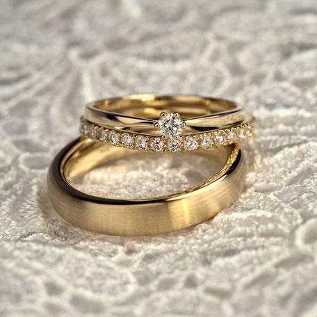 Trauring und Verlobungsring Anfertigungen