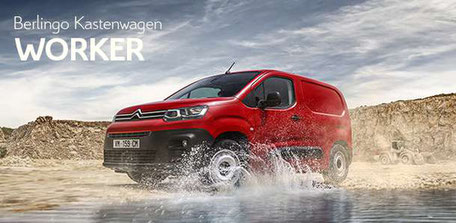 Citroen Berlingo Kastenwagen Worker