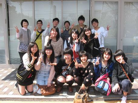 卒業記念会集合写真