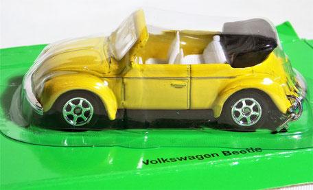 VW Käfer Schlüsselanhänger Modellauto, 1:87, von Welly