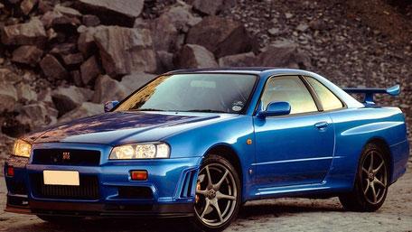 GTーR   R34   1日 価格 1280円