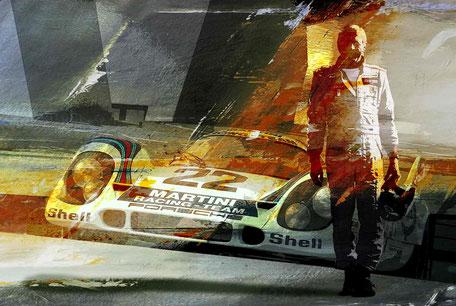 Van Lennep Le Mans 1971