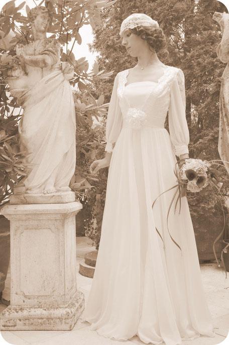 Braut-Cap aus Spitze für die Braut