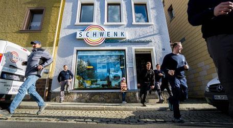 Firma Schwenk in Selb