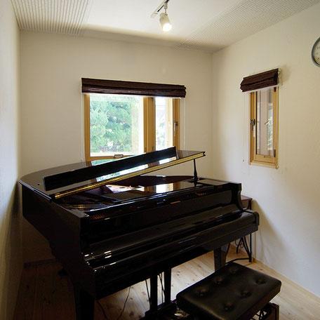 音楽室 ピアノ室 リノベーション ツーバイフォー 補強