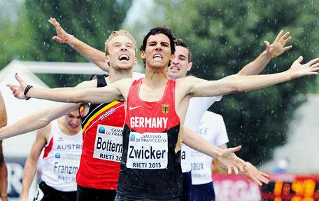Patrick Zwicker, 800m-Läufer, Junioren-Europameister-2013