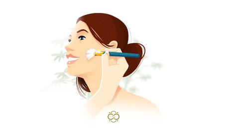 Infinity Beauty Make-Up Illustration